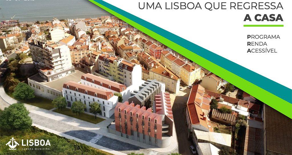 Abertas as candidaturas do Programa Renda Acessível da Câmara Municipal de Lisboa