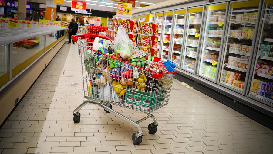 Famílias nunca gastaram tanto em comida como no primeiro trimestre